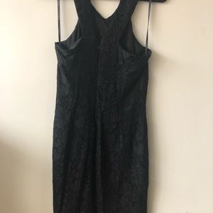 Chinese Laundry Dresses - Evening lace fitted Asymmetrical dress